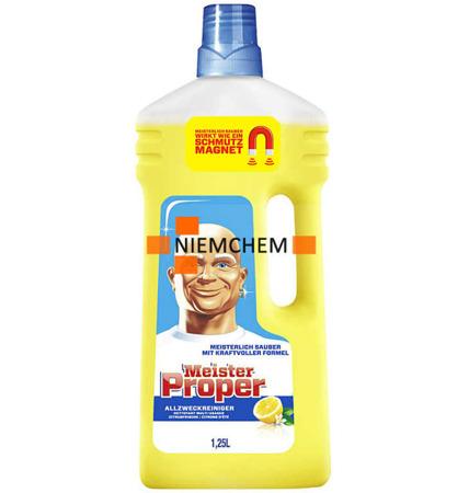 Mr Proper Citrus Płyn do Mycia Podłóg 1,25L DE