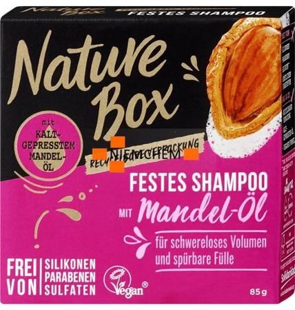 Nature Box Szampon do Włosów Mandel-Ol Kostka 85g DE
