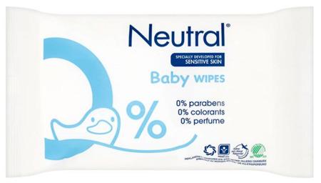 Neutral Hipoalergiczne Chusteczki Nawilżane dla Dzieci 63szt DK