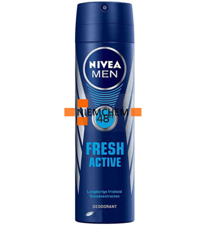 Nivea Men Fresh Active Męski Dezodorant Spray 150ml DE