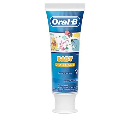 Oral-B Baby Pasta do Zębów Guma Balonowa dla Dzieci 0-2 lata 75ml UK