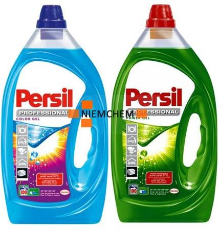 Persil Professional Color + Power Żel do Prania 2x 100pr 5L = 200pr BE