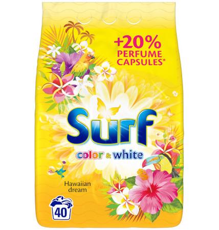 Surf Hawaiian Dream Color + White Proszek do Prania 40pr 2,6kg