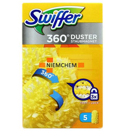 Swiffer 360° Wkłady Miotełki do Kurzu 5 Sztuk DE