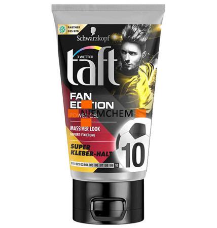 Taft Fan Edition Massiver Look 10 Super Mocny Żel do Włosów 150ml DE