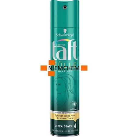 Taft Fulle 4 Lakier Zwiększający Gęstość 250ml DE