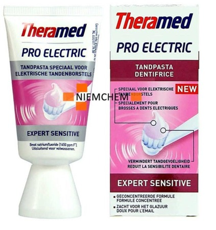 Theramed Pro Electric Expert Sensitive Pasta do Zębów 50ml BE WYPRZEDAŻ