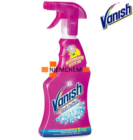 Vanish Oxi Action Odplamiacz do Tkanin Spray 500ml