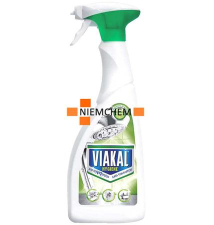 Viakal Antikal Hygiene Spray do Usuwania Kamienia z Łazienki 750ml GR