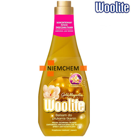 Woolite Balsam Płyn do Płukania Gold Magnolia 1,2L 50pr