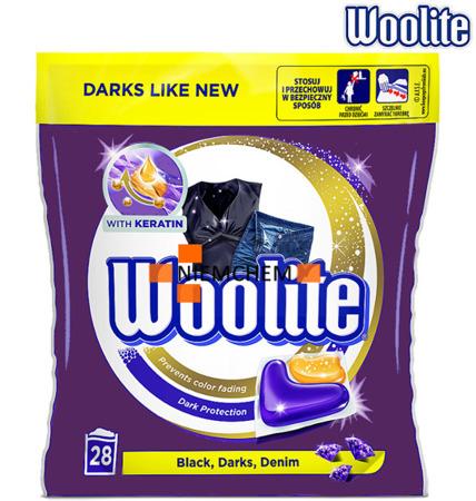 Woolite Dark Kapsułki do Prania Czarnego 28szt