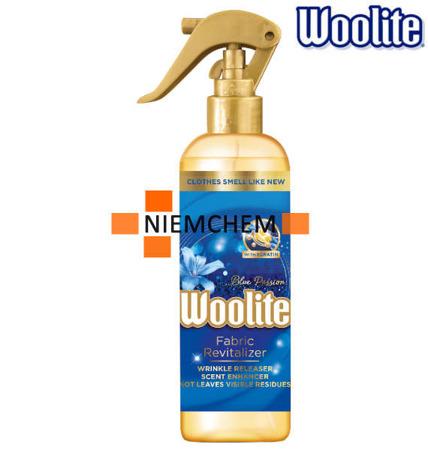 Woolite Spray Odświeżacz do Pielęgnacji Tkanin Blue Passion